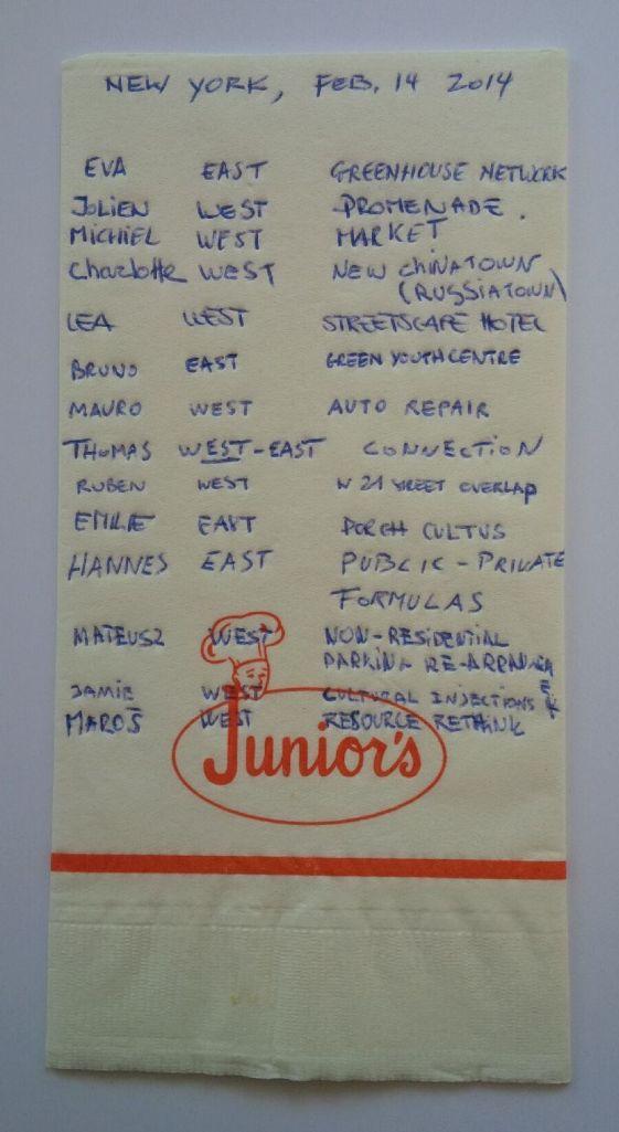 juniors NY